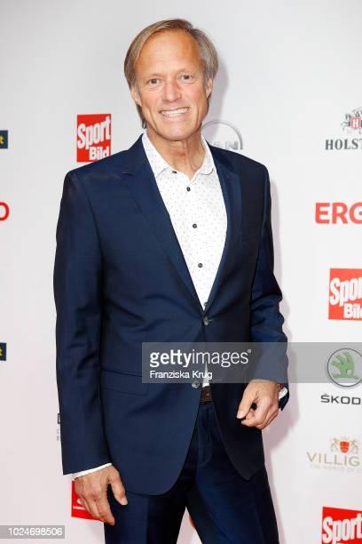 Presenter Gerhard Delling attends the Sport Bild Award on August 27 2018 in Hamburg Germany