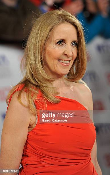 TV presenter Gillian McKeith attends the National Television Awards at the O2 Arena on January 26 2011 in London England