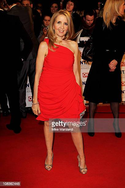 TV presenter Gillian McKeith attends the The National Television Awards at the O2 Arena on January 26 2011 in London England