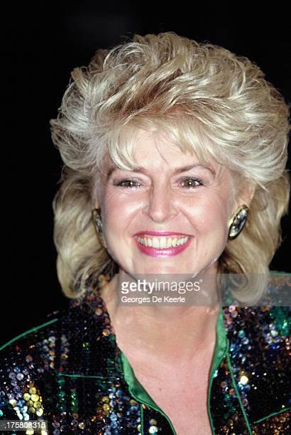 TV presenter Gloria Hunniford in 1990 ca in London England