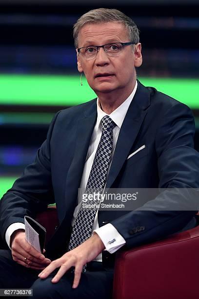 Presenter Guenther Jauch attends the television show 2016 Menschen Bilder Emotionen RTL Jahresrueckblick on December 4 2016 in Cologne Germany