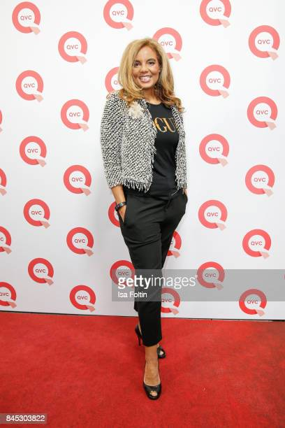 QVC presenter Hadiya Hohmann attends a QVC event during the Vogue Fashion's Night Out on September 8 2017 in duesseldorf Germany