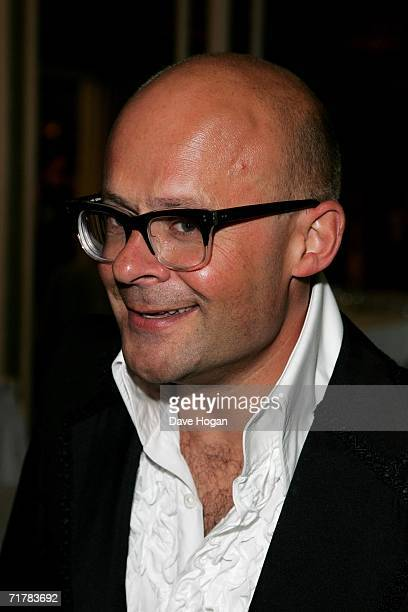 TV presenter Harry Hill attends the TV Quick and TV Choice Awards at the Dorchester Hotel Park Lane on September 4 2006 in London England The annual...