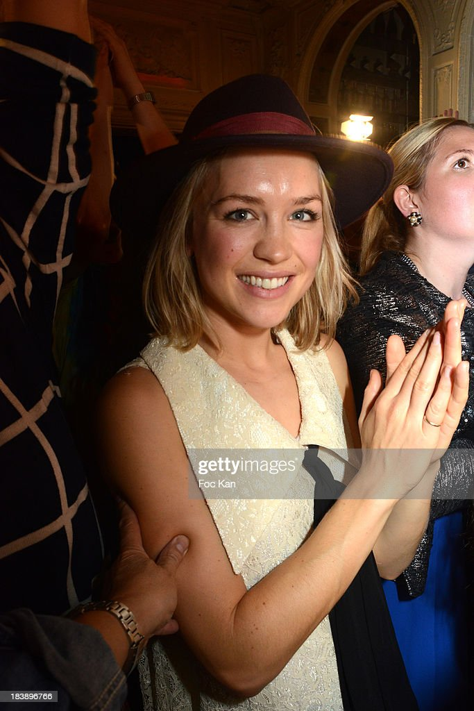 TV presenter Hayley Edmonds attends the the Plastiscines private concert hosted by MTV Pulse at The Carmen Club on October 9, 2013 in Paris, France.