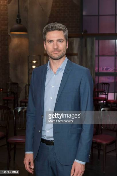 TV presenter Ingo Zamperoni attends the Koelner Treff TV Show at the WDR Studio on June 29 2018 in Cologne Germany