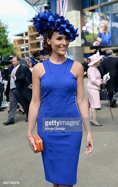 Presenter Isabel Webster attends day one of Royal Ascot at Ascot Racecourse on June 17 2014 in Ascot England