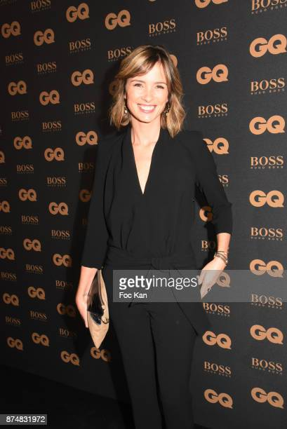 TV presenter Isabelle Ithurburu attends the Les GQ Men Of The Year Awards 2017 Photocall at Trianon on November 15 2017 in Paris France