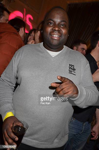 Presenter Issa Doumbia attends the 'Canal Street' Concert Party at Cafe Carmen on January 26, 2011 in Paris, France.
