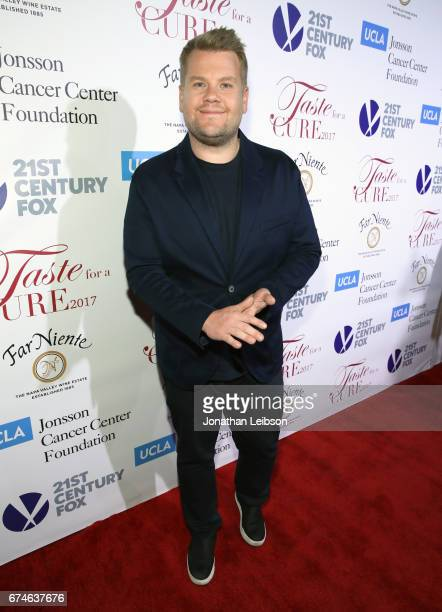 Presenter James Corden attends the UCLA Jonsson Cancer Center Foundation Hosts 22nd Annual 'Taste for a Cure' event honoring Yael and Scooter Braun...
