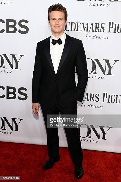 Presenter Jonathan Groff attends the 68th Annual Tony Awards at Radio City Music Hall on June 8 2014 in New York City