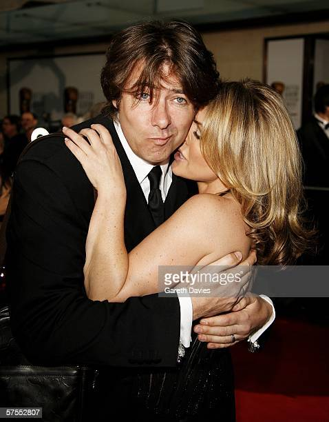Presenter Jonathan Ross and actress Patsy Kensit arrive at the Pioneer British Academy Television Awards 2006 at the Grosvenor House Hotel on May 7,...