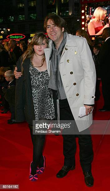 Presenter Jonathan Ross attend the UK premiere of 'High School Musical 3' at the Empire cinema, Leicester Square on October 7, 2008 in London,...
