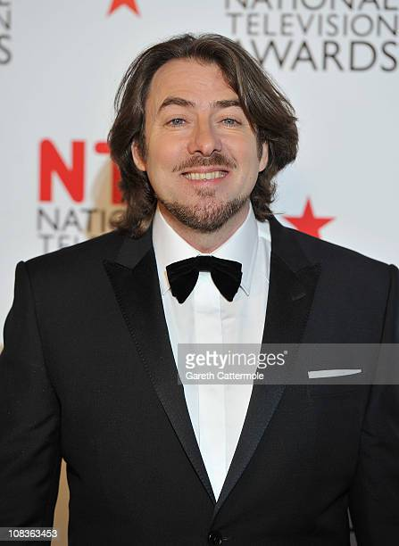 Presenter Jonathan Ross during the National Television Awards at the O2 Arena on January 26, 2011 in London, England.