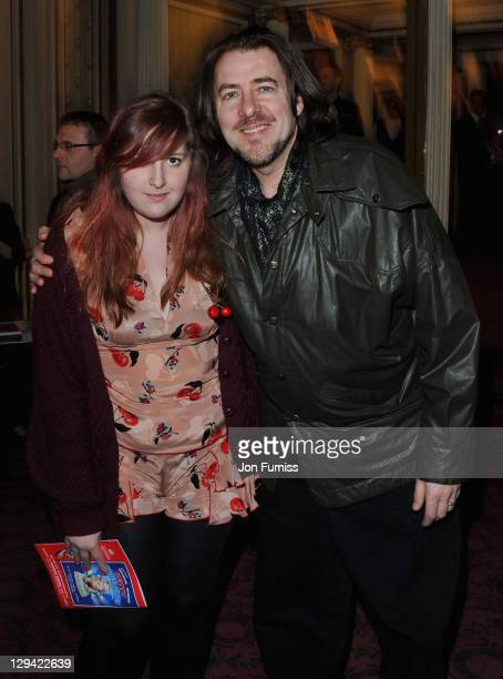 TV presenter Jonathan Ross with his daughter Honey Kinny attend The Umbrellas of Cherbourg Theatre Press Night at the Gielgud Theatre on March 22...
