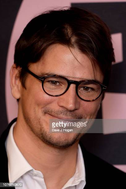 Presenter Josh Harnett poses in the winners room at the 21st British Independent Film Awards at Old Billingsgate on December 02 2018 in London England