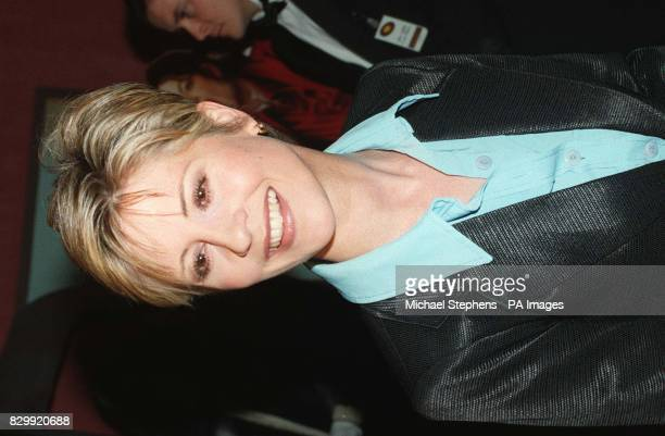 TV presenter Julia Carling arriving at London's Odeon Leicester Square this evening for the premiere of Michael Jackson's Ghost's film Photo by...