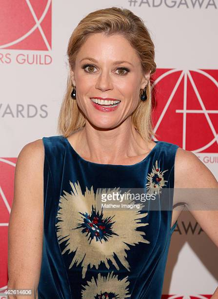 Presenter Julie Bowen attends the 19th Annual Art Directors Guild Excellence In Production Design Awards at The Beverly Hilton Hotel on January 31...