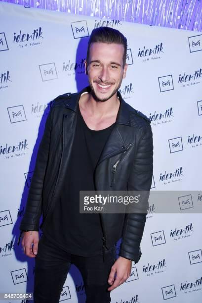 TV presenter Julien Geloen attends 'Identik' by M Pokora Launch Party at Duplex Club on September 17 2017 in Paris France