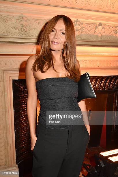 TV presenter Karine Arsene attends the Gala de L'Espoir 2016 at Theatre du Chatelet on November 14 2016 in Paris France
