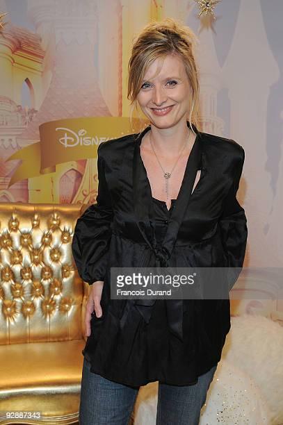 Presenter Karine de Menonville attends the Disneyland Magic Christmas Season Launch at Disneyland Resort Paris on November 7, 2009 in Paris, France.