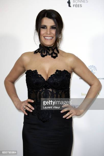 Presenter Karine Ferri attends Les Bonnes Fees Charity Gala at Hotel D'Evreux on March 20 2017 in Paris France