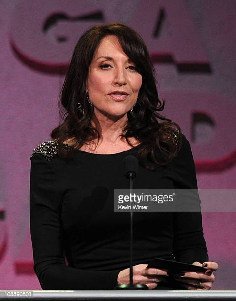 Presenter Katey Sagal onstage at the 63rd Annual Directors Guild Of America Awards held at the Grand Ballroom at Hollywood Highland on January 29...