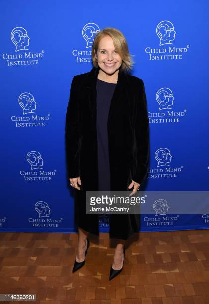 Presenter Katie Couric attends the Child Mind Institute's 2019 Change Maker Awards at Carnegie Hall on May 01 2019 in New York City
