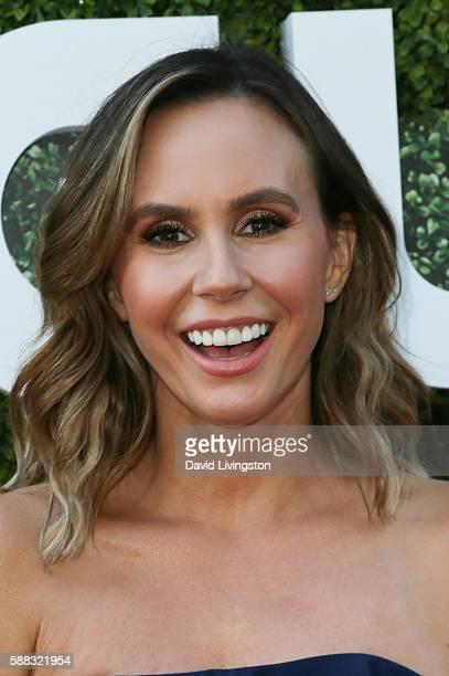 Presenter Keltie Knight arrives at the CBS CW Showtime Summer TCA Party at the Pacific Design Center on August 10 2016 in West Hollywood California