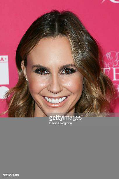 Presenter Keltie Knight arrives at the OK Magazine's So Sexy LA at the Skybar at Mondrian on May 18 2016 in West Hollywood California