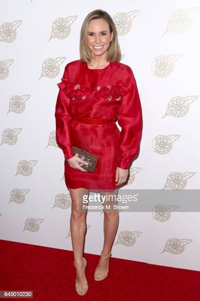 Presenter Keltie Knight attends the 54th Annual International Cinematographers Guild Publicists Awards at The Beverly Hilton Hotel on February 24...