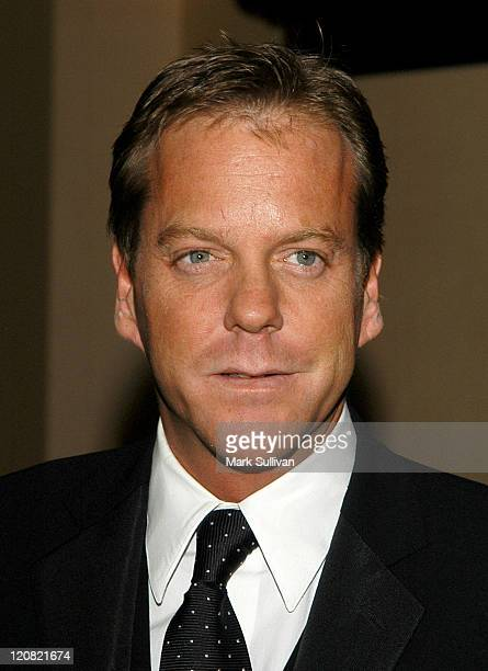Presenter Kiefer Sutherland during American Society of Cinematographers 18th Annual Outstanding Achievment Awards Arrivals at Century Plaza Hotel in...
