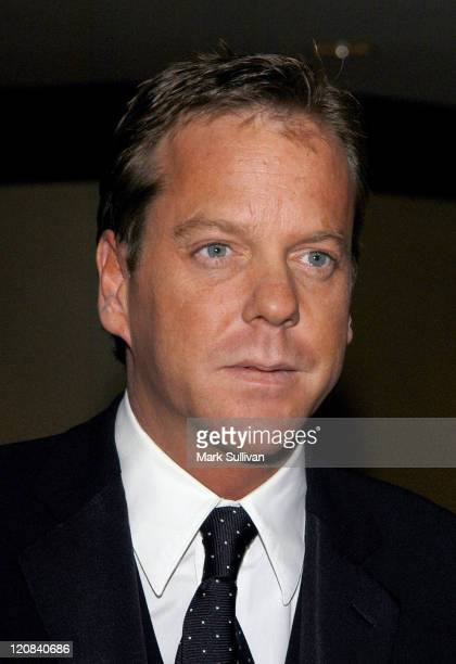 Presenter Kiefer Sutherland during American Society of Cinematographers 18th Annual Outstanding Achievment Awards - Arrivals at Century Plaza Hotel...