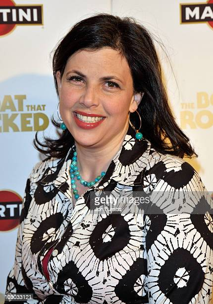 Presenter Kirsty Allsopp attends 'The Boat That Rocked' Martini World Premiere Party at the Louise Blouin Foundation on March 23 2009 in London...