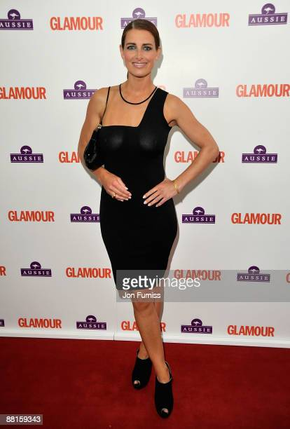 TV presenter Kirsty Gallacher attends the Glamour Women of the Year Awards 2009 at Berkeley Square Gardens on June 2 2009 in London England