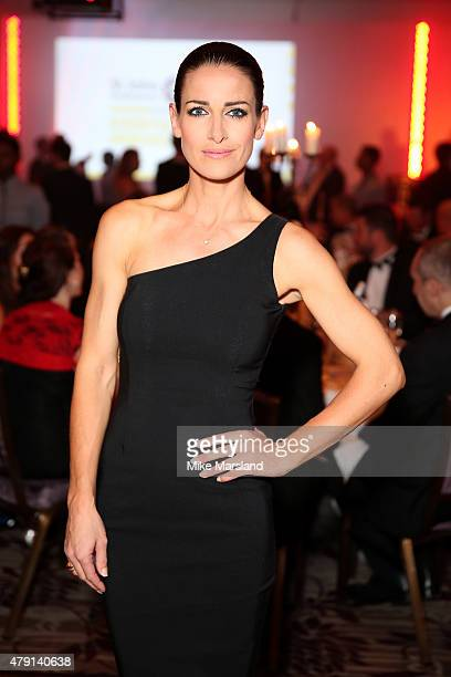 Presenter Kirsty Gallacher attends the St John Ambulance's Everyday Heroes Awards a starstudded celebration of the nation's life savers at Lancaster...