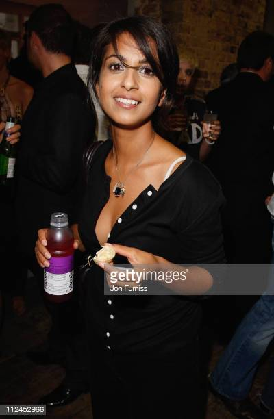 TV presenter Konnie Huq attends the launch of Visa Swap at The Piazza Covent Garden on July 16 2008 in London England