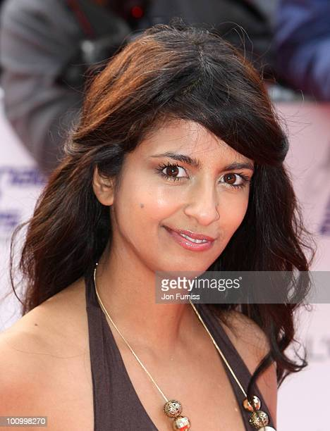 TV presenter Konnie Huq attends the National Movie Awards 2010 at the Royal Festival Hall on May 26 2010 in London England