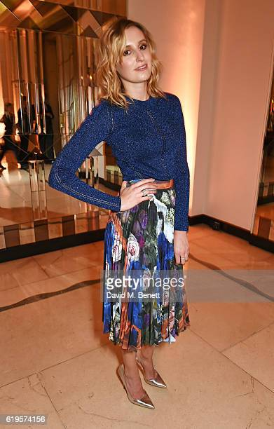 Presenter Laura Carmichael attends the Harper's Bazaar Women of the Year Awards 2016 at Claridge's Hotel on October 31 2016 in London England