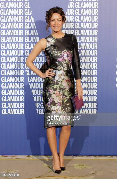 TV presenter Laura Madrueno attends the Glamour Magazine Awards photocall at Ritz hotel on December 12 2017 in Madrid Spain