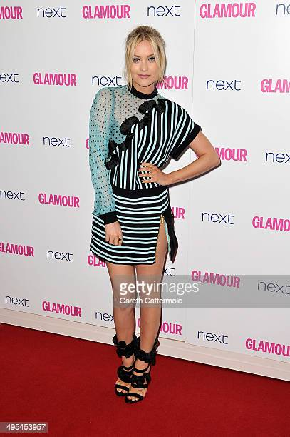 Presenter Laura Whitmore attends the Glamour Women of the Year Awards at Berkeley Square Gardens on June 3, 2014 in London, England.