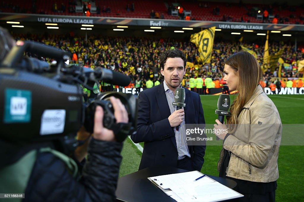 Liverpool v Borussia Dortmund - UEFA Europa League Quarter Final: Second Leg : ニュース写真