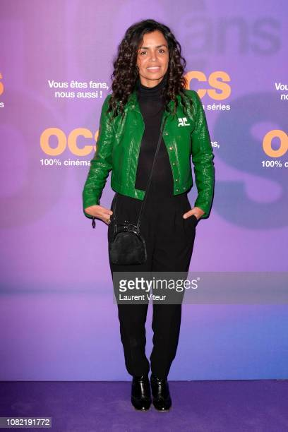 Presenter Laurence Roustandjee attends OCS 10th Anniversary at Pavillon d'Armenonville on December 13 2018 in Paris France