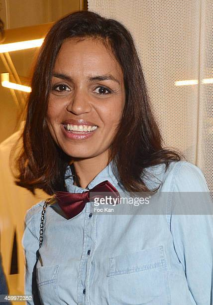 TV presenter Laurence Roustandjee attends the 'Espace Basus' Opening Party at Au Pied Du Perchoir on December 4 2014 in Paris France