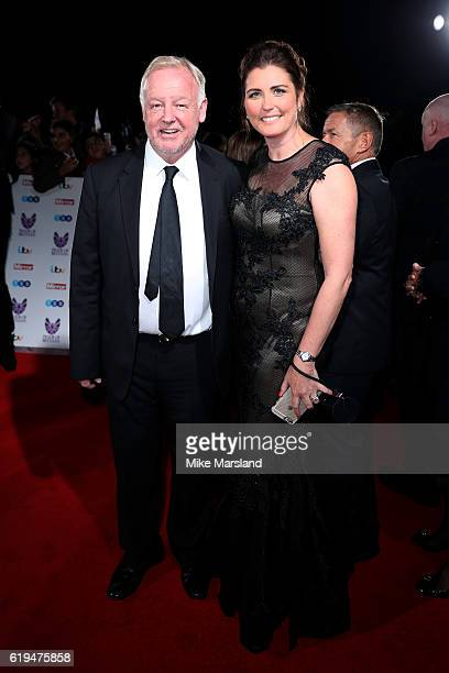 Presenter Les Dennis and wife Claire Nicholson attend the Pride Of Britain Awards at The Grosvenor House Hotel on October 31 2016 in London England