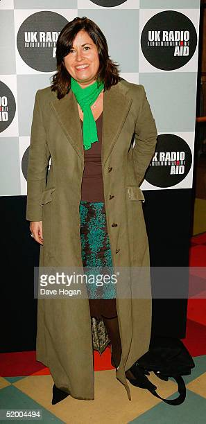 "Presenter Lisa Tarbuck attends ""UK Radio Aid"", a nationally syndicated event raising funds for children affected by the Asian tsunami, at Capital..."