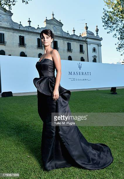 TV presenter Lorena Bianchetti attends the 70th Venice International Film Festival at Terrazza Maserati on September 2 2013 in Venice Italy