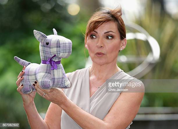 Presenter Lorraine Kelly launches her first homeware collection for JD Williams at The Savoy Hotel on January 27 2016 in London England