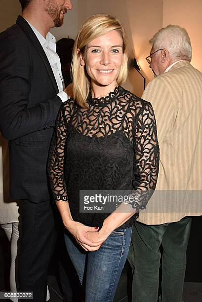 Presenter Louise Ekland attends the 'Charal' 30th Anniversary Pop Up Store Opening Party at Rue des Halles on September 14, 2016 in Paris, France.