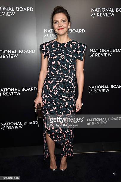 Presenter Maggie Gyllenhaal attends the 2016 National Board of Review Gala at Cipriani 42nd Street on January 4 2017 in New York City