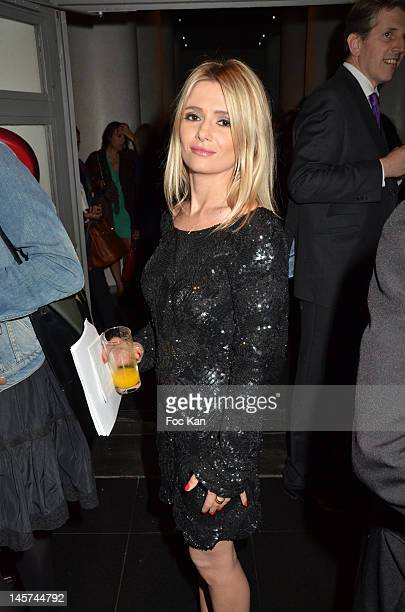 TV presenter Marie Inbona attends the 'Trofemina 2012 Edition hosted by Tentation at Institut du Monde Arabe on June 4 2012 in Paris France